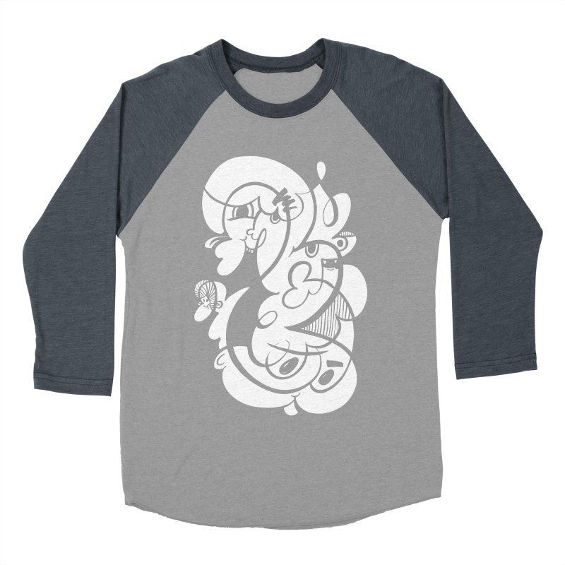 Doodle of the day V Women's Baseball Triblend Longsleeve T-Shirt by Favati