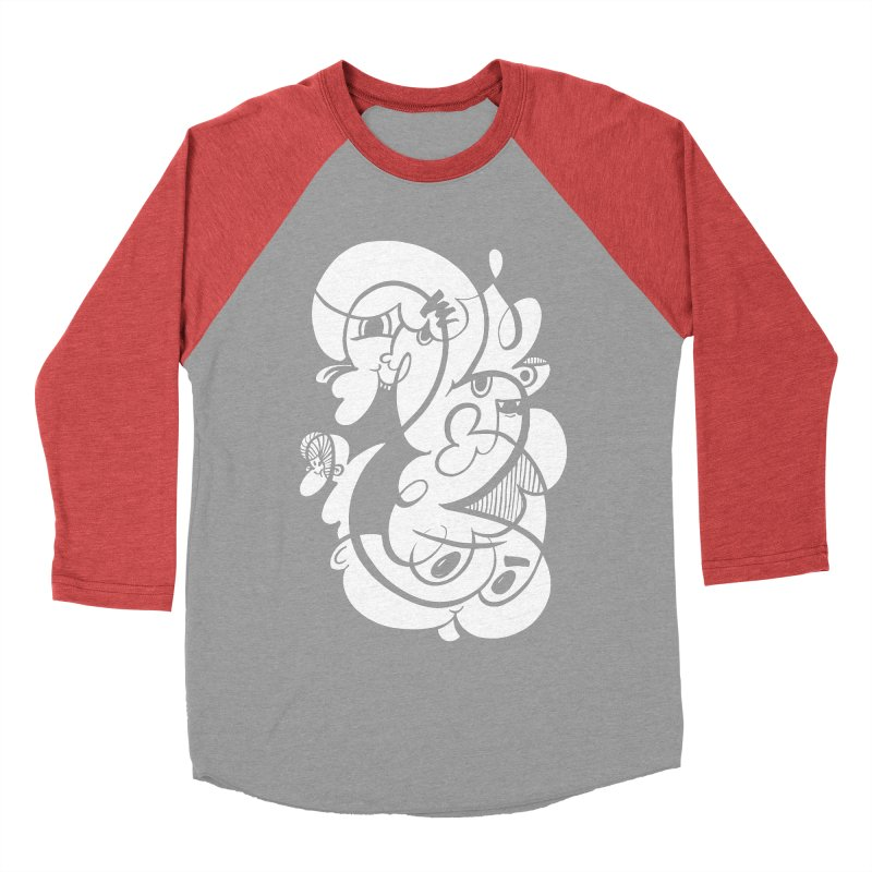 Doodle of the day V Men's Baseball Triblend Longsleeve T-Shirt by Favati