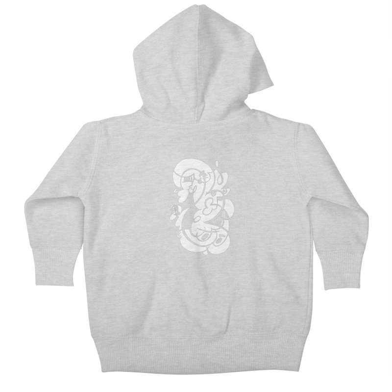 Doodle of the day V Kids Baby Zip-Up Hoody by Favati