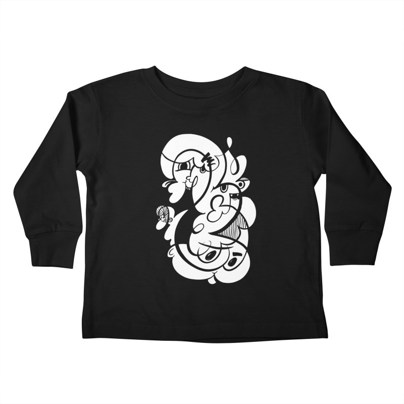 Doodle of the day V Kids Toddler Longsleeve T-Shirt by Favati