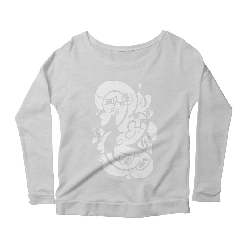 Doodle of the day V Women's Scoop Neck Longsleeve T-Shirt by Favati