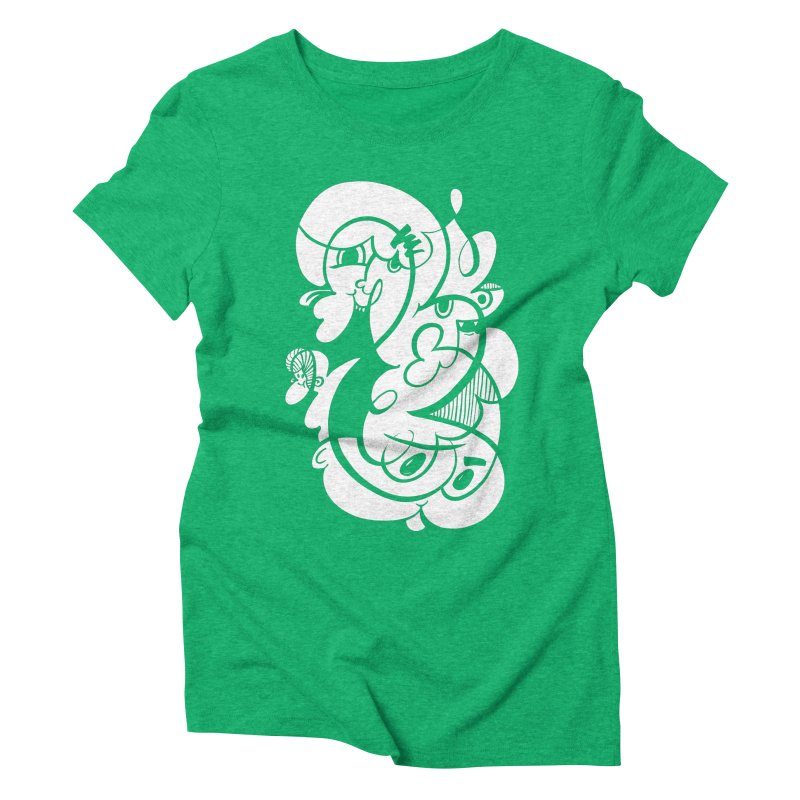 Doodle of the day V Women's Triblend T-Shirt by Favati