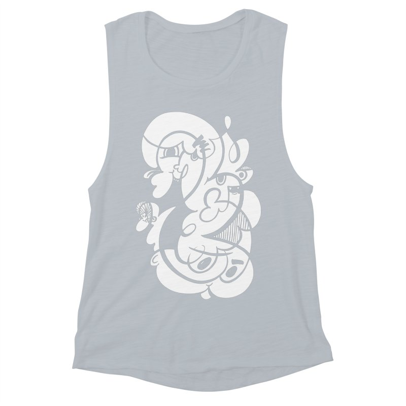 Doodle of the day V Women's Muscle Tank by Favati