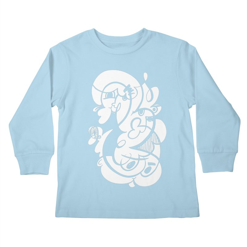 Doodle of the day V Kids Longsleeve T-Shirt by Favati