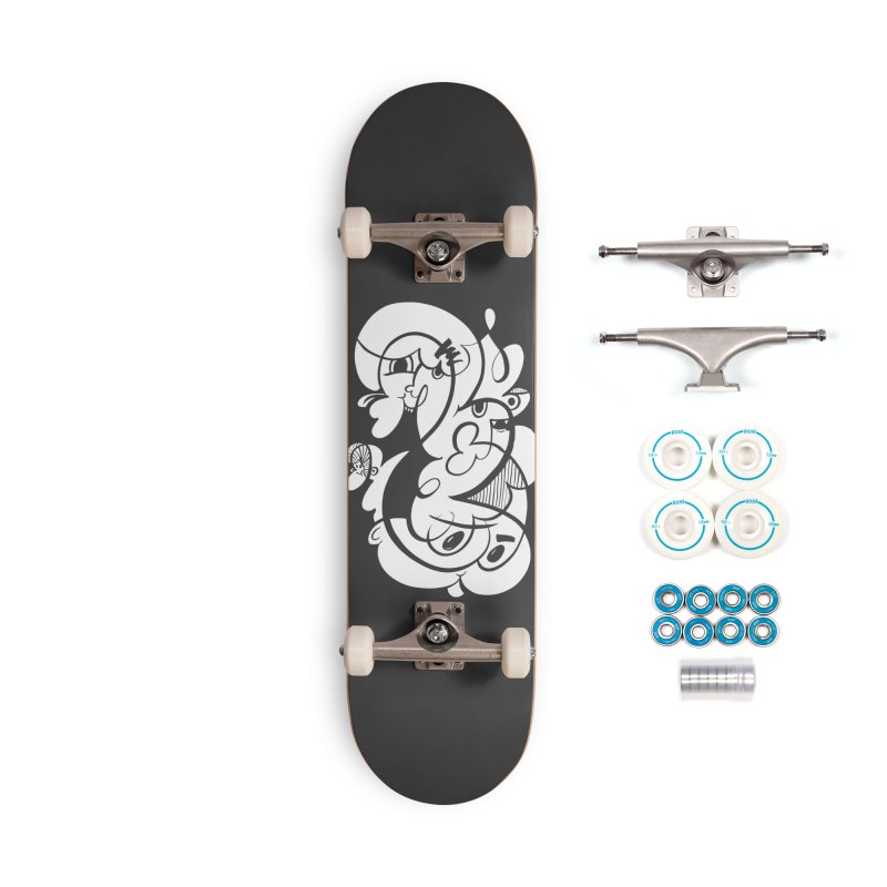 Doodle of the day V Accessories Complete - Basic Skateboard by Favati