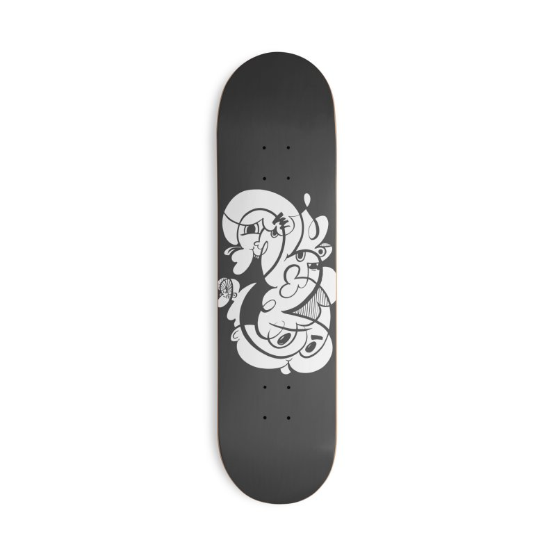Doodle of the day V Accessories Deck Only Skateboard by Favati