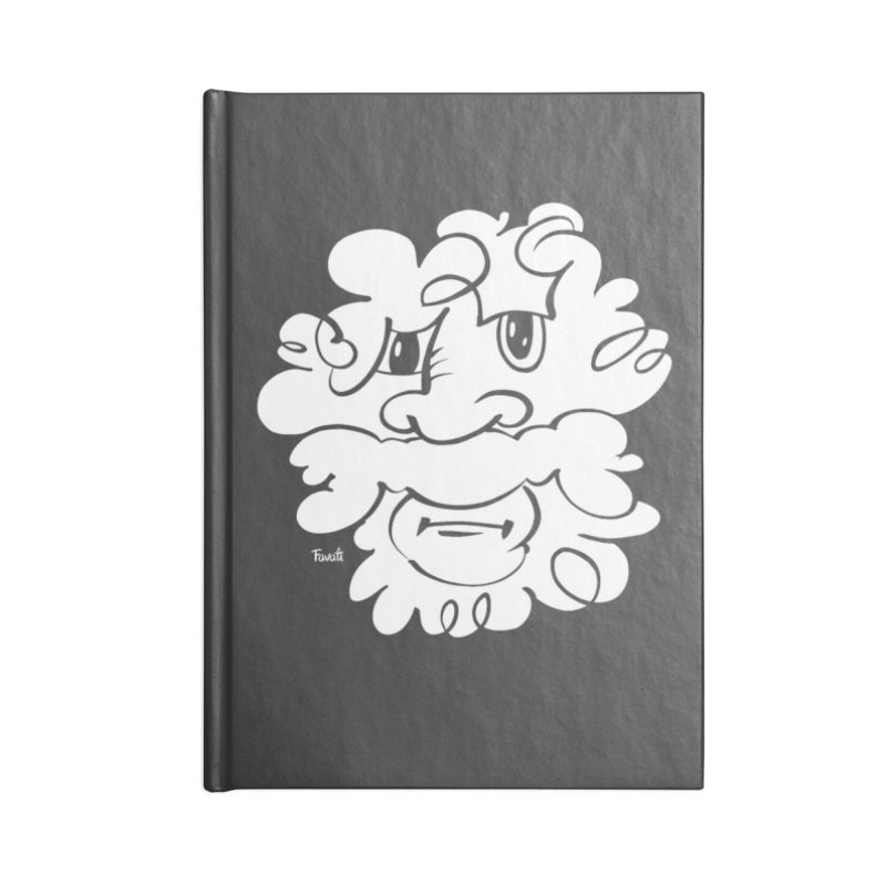 Doodle of the day – Where´s my razor? Accessories Blank Journal Notebook by Favati