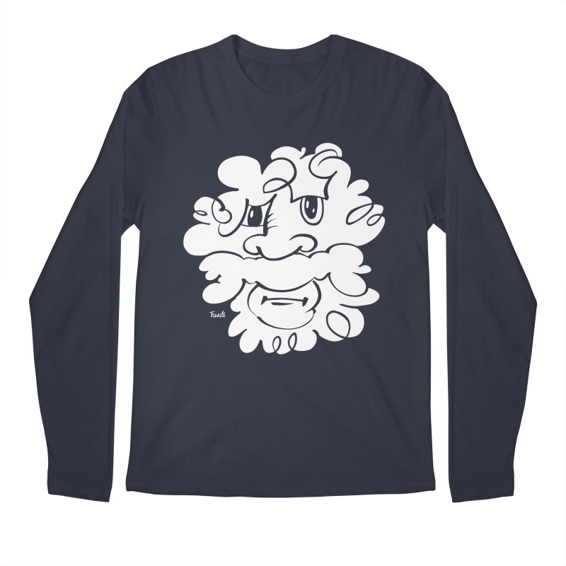 Doodle of the day – Where´s my razor? Men's Longsleeve T-Shirt by Favati