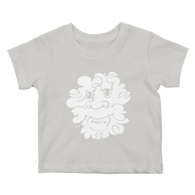 Doodle of the day – Where´s my razor? Kids Baby T-Shirt by Favati