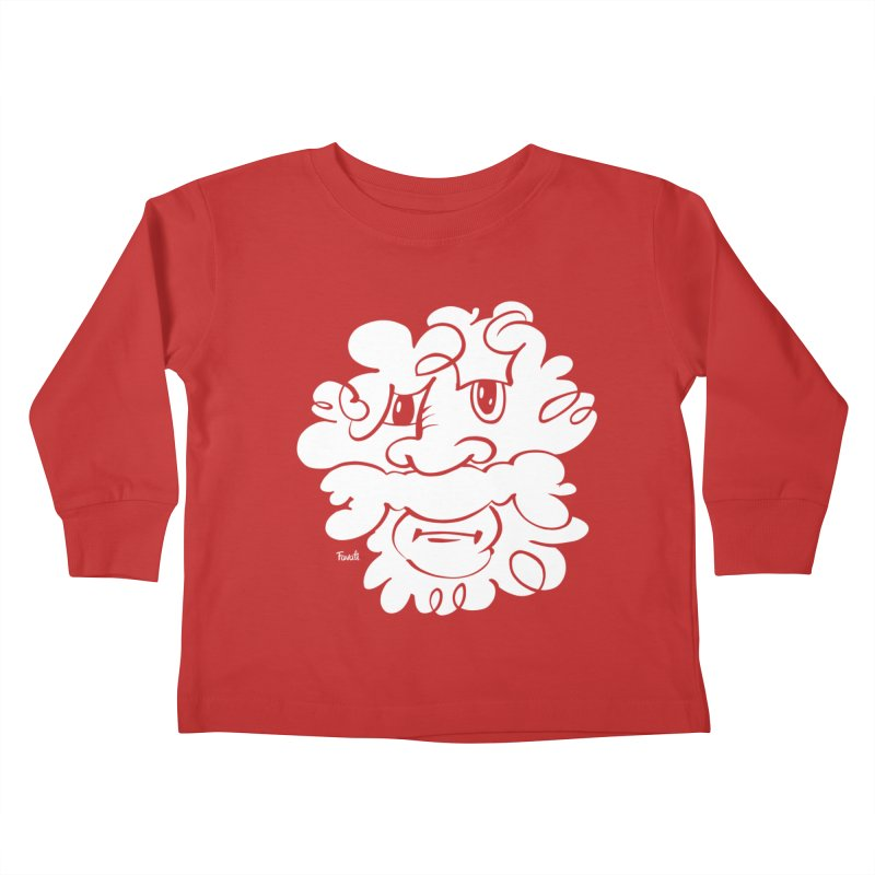 Doodle of the day – Where´s my razor? Kids Toddler Longsleeve T-Shirt by Favati