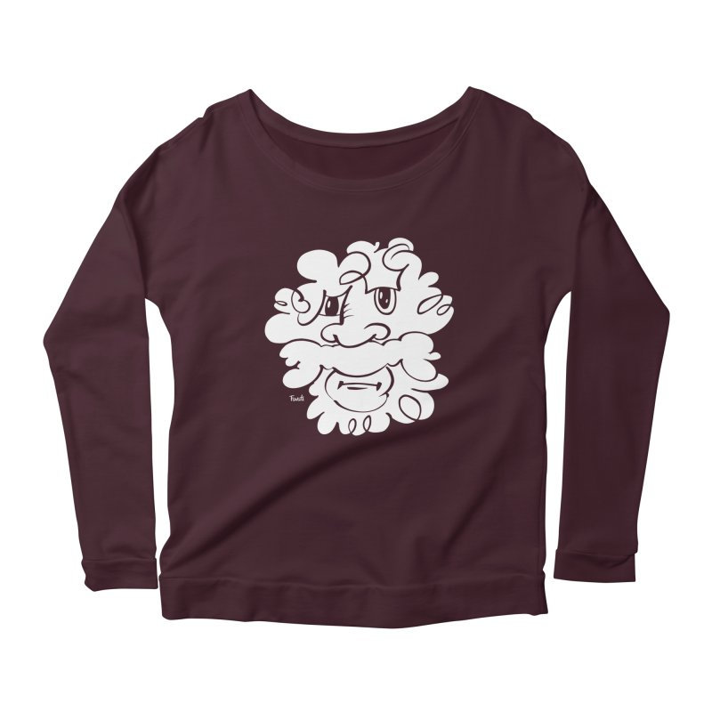 Doodle of the day – Where´s my razor? Women's Longsleeve Scoopneck  by Favati