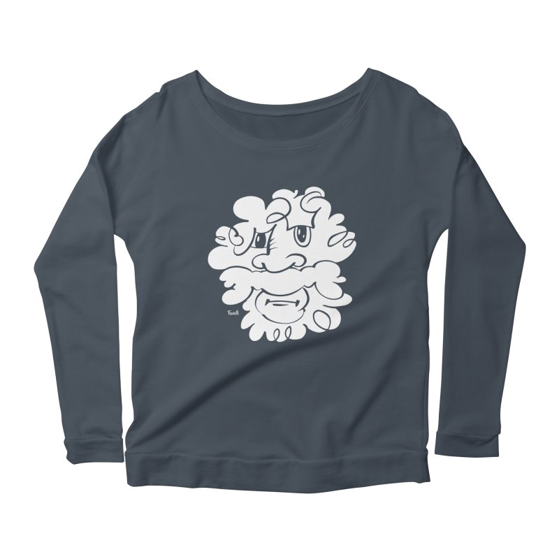 Doodle of the day – Where´s my razor? Women's Scoop Neck Longsleeve T-Shirt by Favati