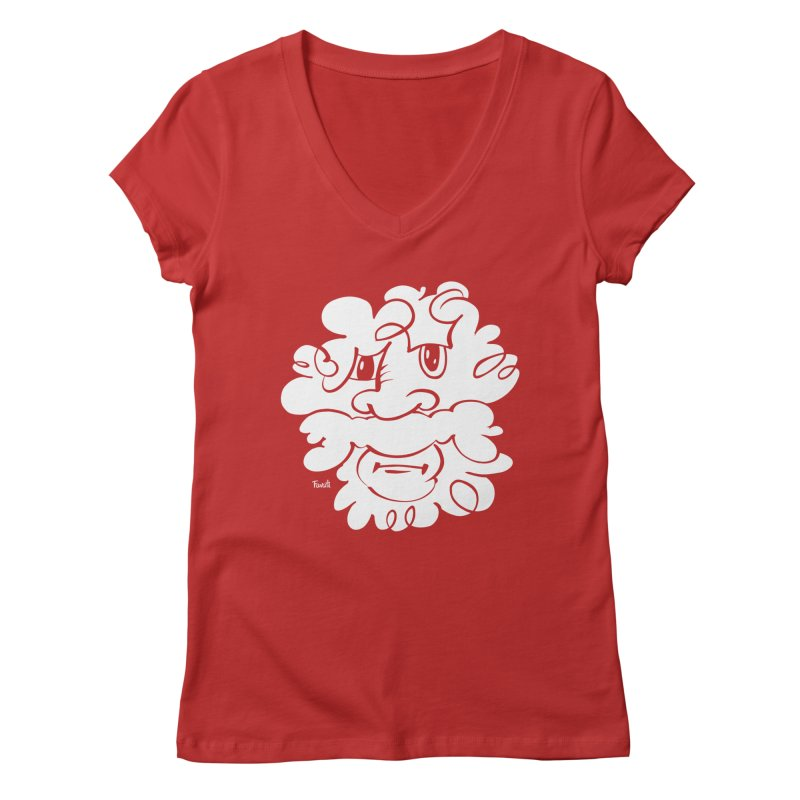 Doodle of the day – Where´s my razor? Women's V-Neck by Favati