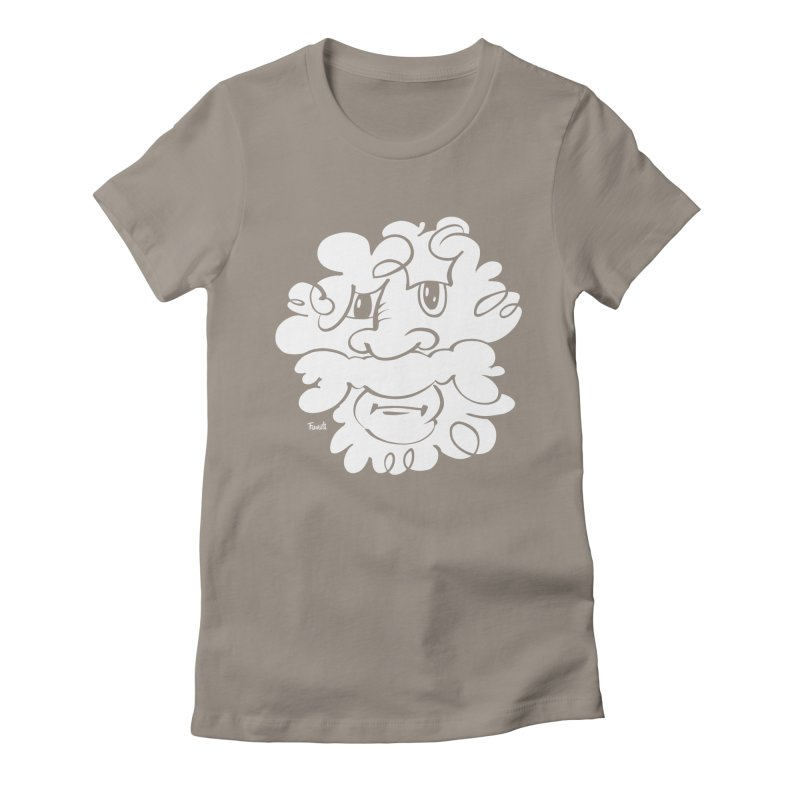 Doodle of the day – Where´s my razor? Women's Fitted T-Shirt by Favati