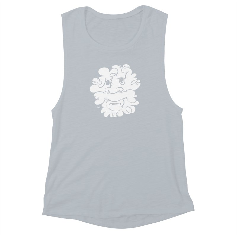 Doodle of the day – Where´s my razor? Women's Muscle Tank by Favati