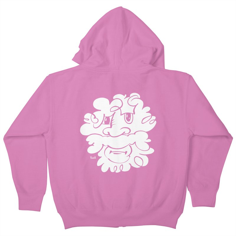 Doodle of the day – Where´s my razor? Kids Zip-Up Hoody by Favati