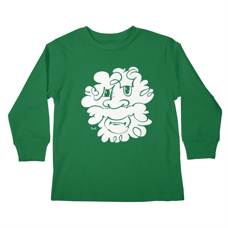 Doodle of the day – Where´s my razor? Kids Longsleeve T-Shirt by Favati
