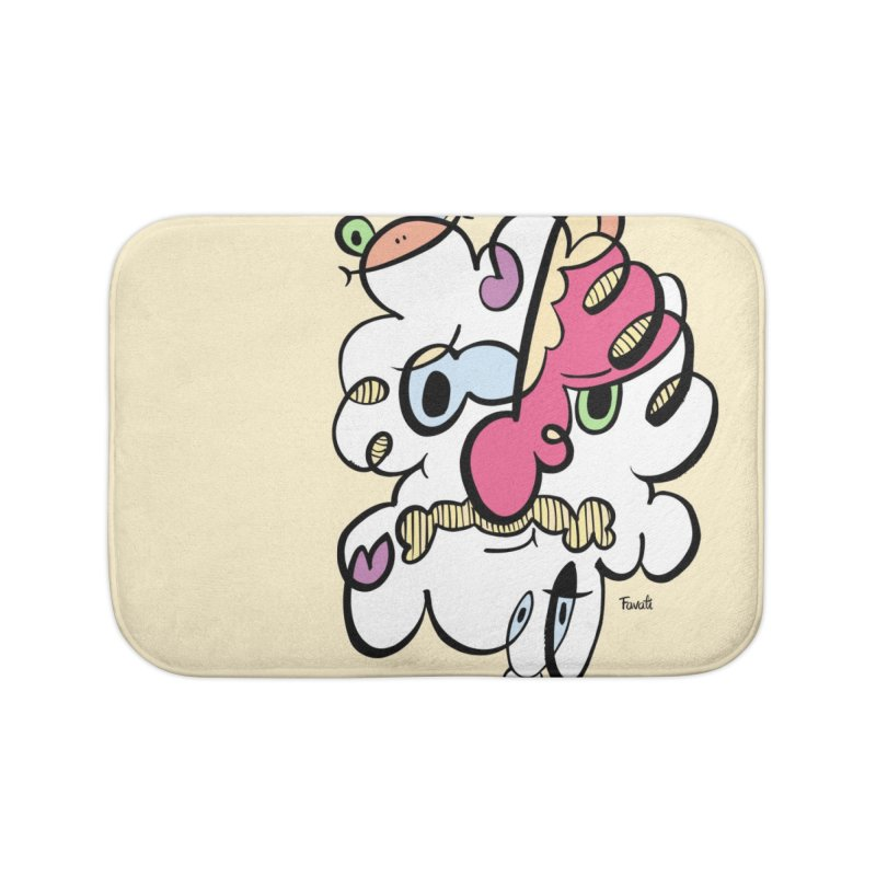 Doodle of the day VIII Home Bath Mat by Favati