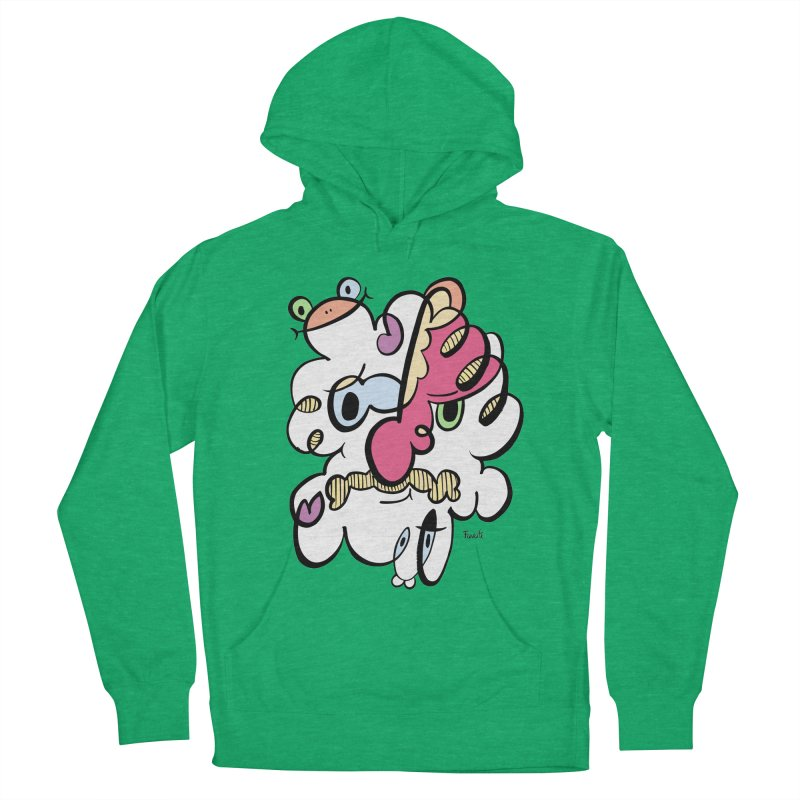 Doodle of the day VIII Men's French Terry Pullover Hoody by Favati