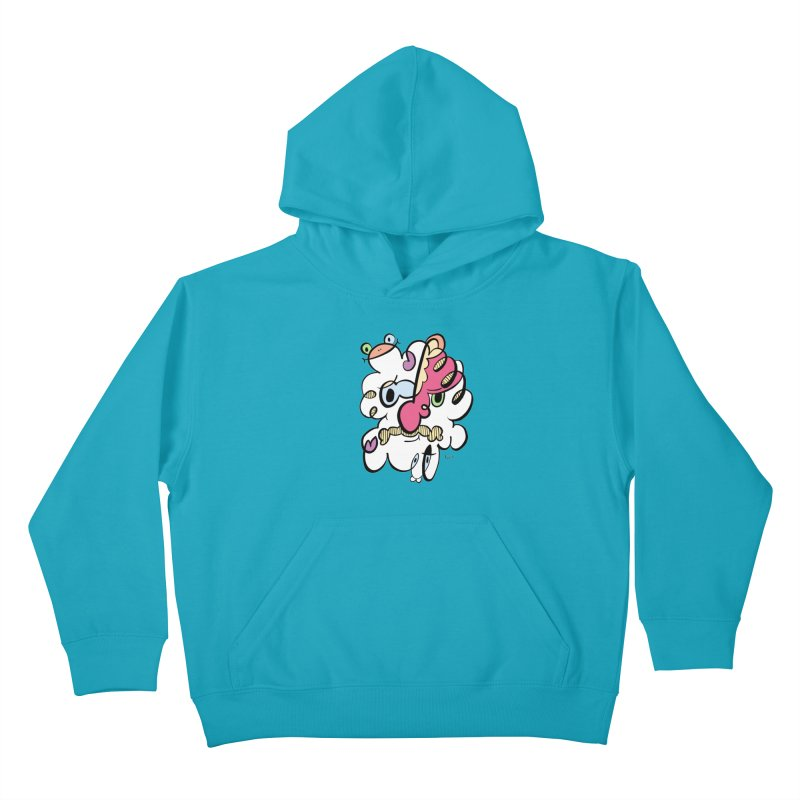 Doodle of the day VIII Kids Pullover Hoody by Favati
