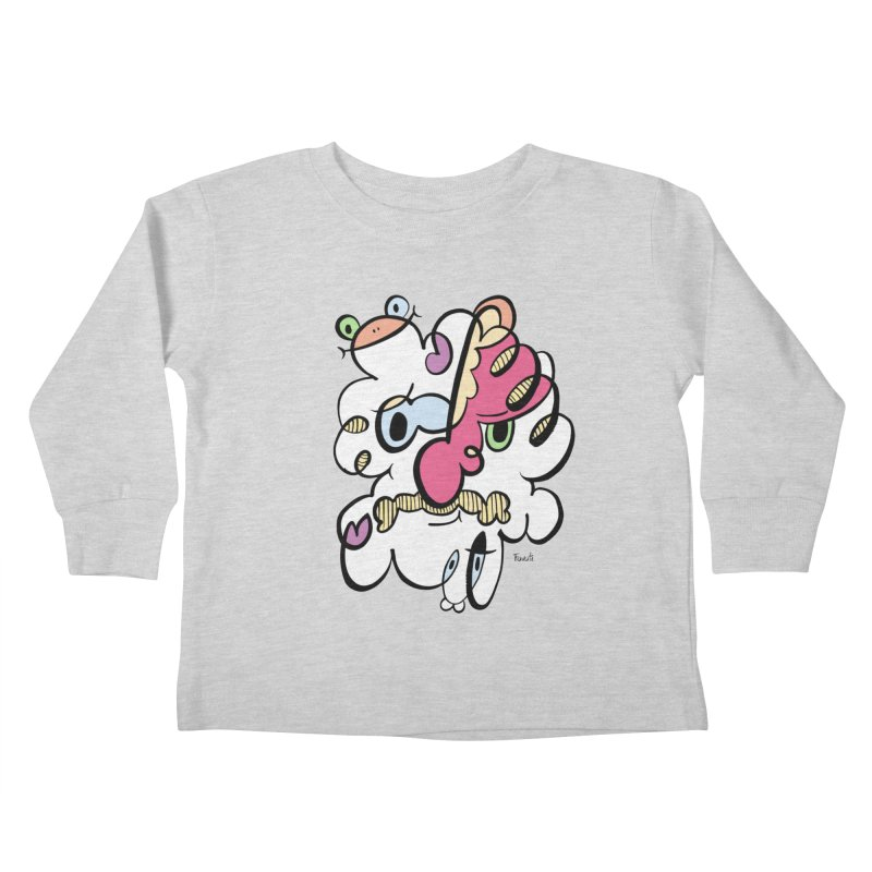Doodle of the day VIII Kids Toddler Longsleeve T-Shirt by Favati
