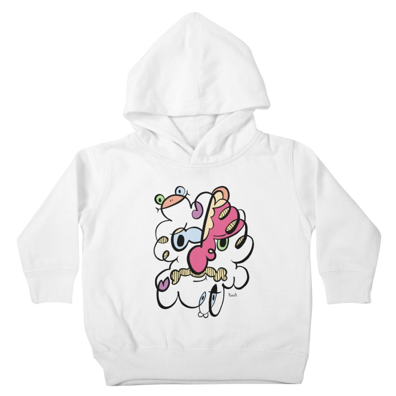 Doodle of the day VIII Kids Toddler Pullover Hoody by Favati