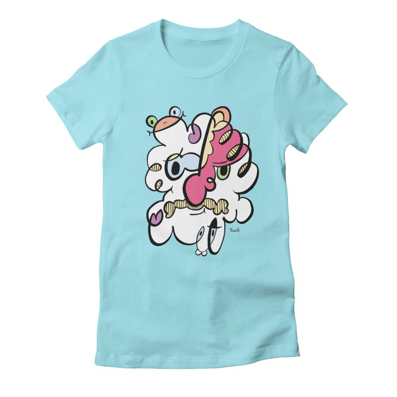 Doodle of the day VIII Women's Fitted T-Shirt by Favati