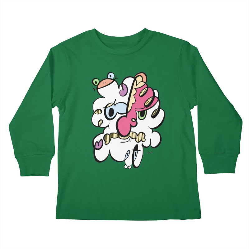 Doodle of the day VIII Kids Longsleeve T-Shirt by Favati