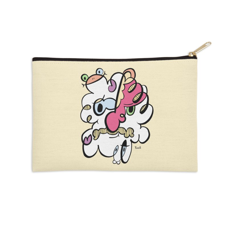 Doodle of the day VIII Accessories Zip Pouch by Favati