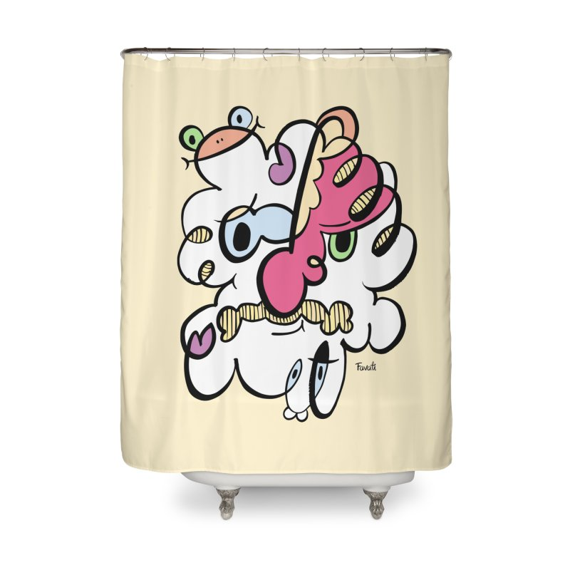 Doodle of the day VIII Home Shower Curtain by Favati