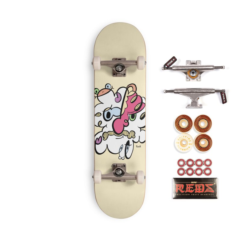Doodle of the day VIII Accessories Skateboard by Favati
