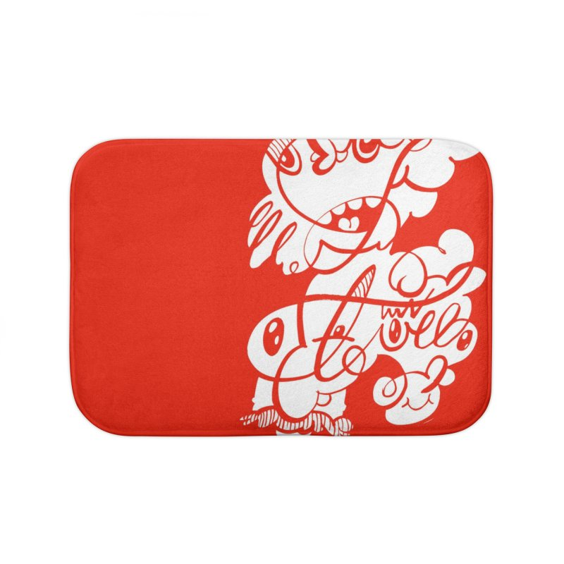 The Doodle Family Home Bath Mat by Favati
