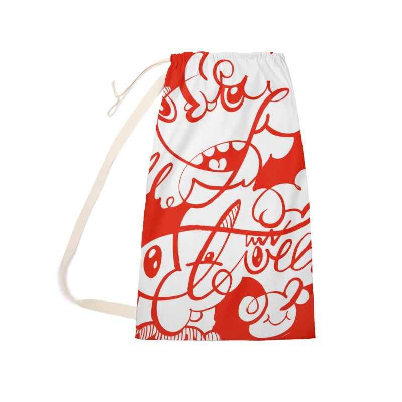 The Doodle Family Accessories Laundry Bag Bag by Favati