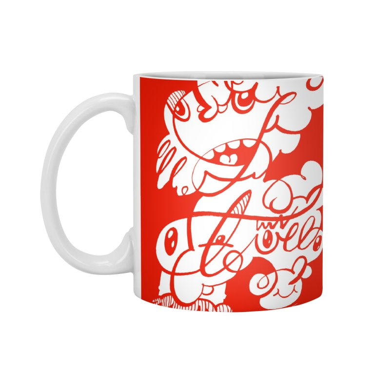 The Doodle Family Accessories Mug by Favati