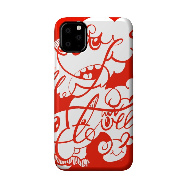 The Doodle Family Accessories Phone Case by Favati