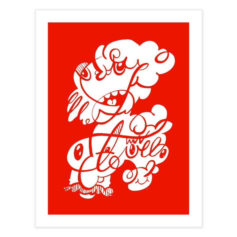 The Doodle Family Home Fine Art Print by Favati