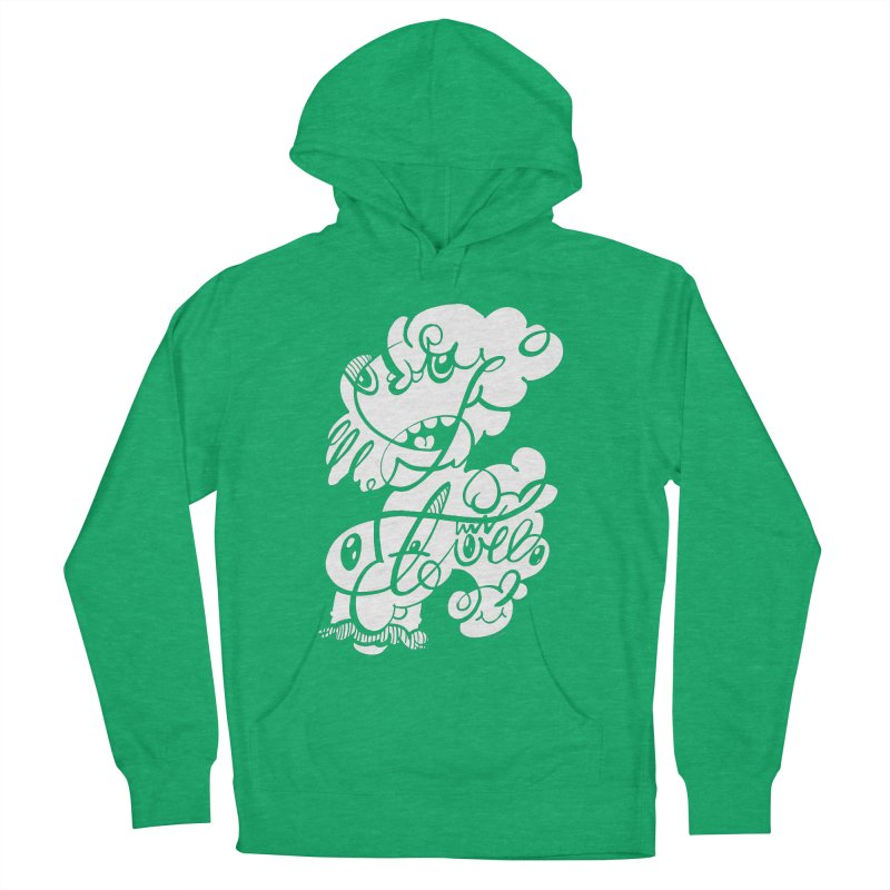 The Doodle Family Men's French Terry Pullover Hoody by Favati
