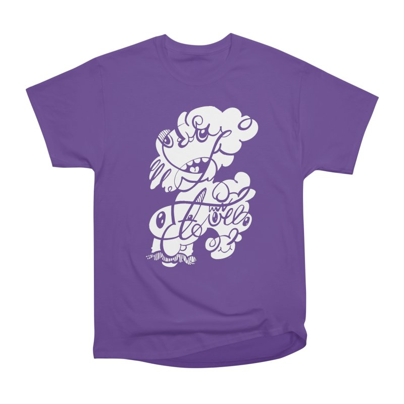 The Doodle Family Women's Heavyweight Unisex T-Shirt by Favati