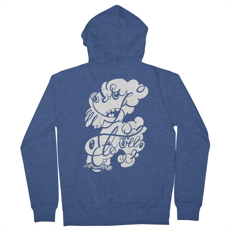 The Doodle Family Men's Zip-Up Hoody by Favati
