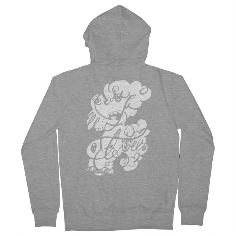 The Doodle Family Men's French Terry Zip-Up Hoody by Favati