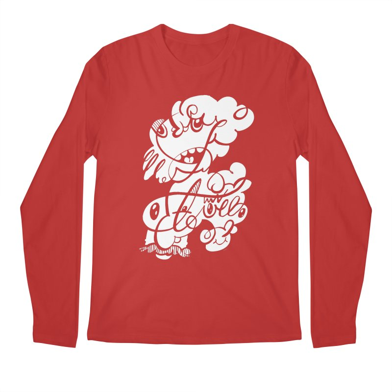 The Doodle Family Men's Regular Longsleeve T-Shirt by Favati