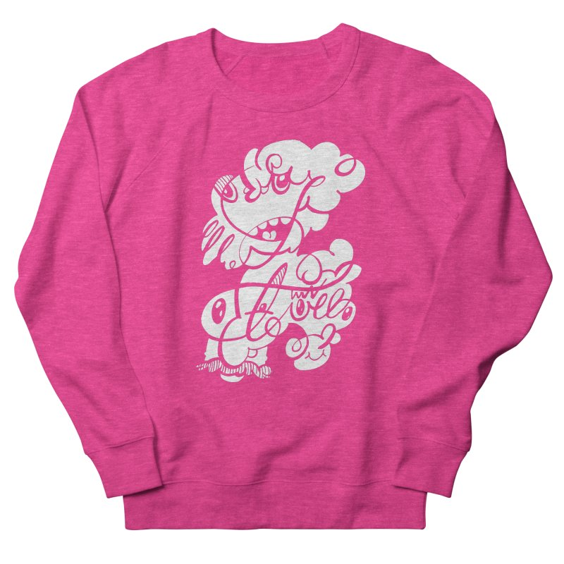 The Doodle Family Women's French Terry Sweatshirt by Favati