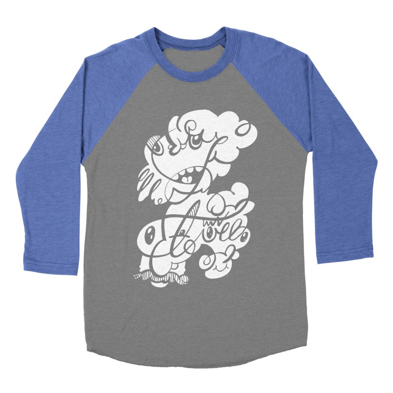 The Doodle Family Women's Baseball Triblend T-Shirt by Favati