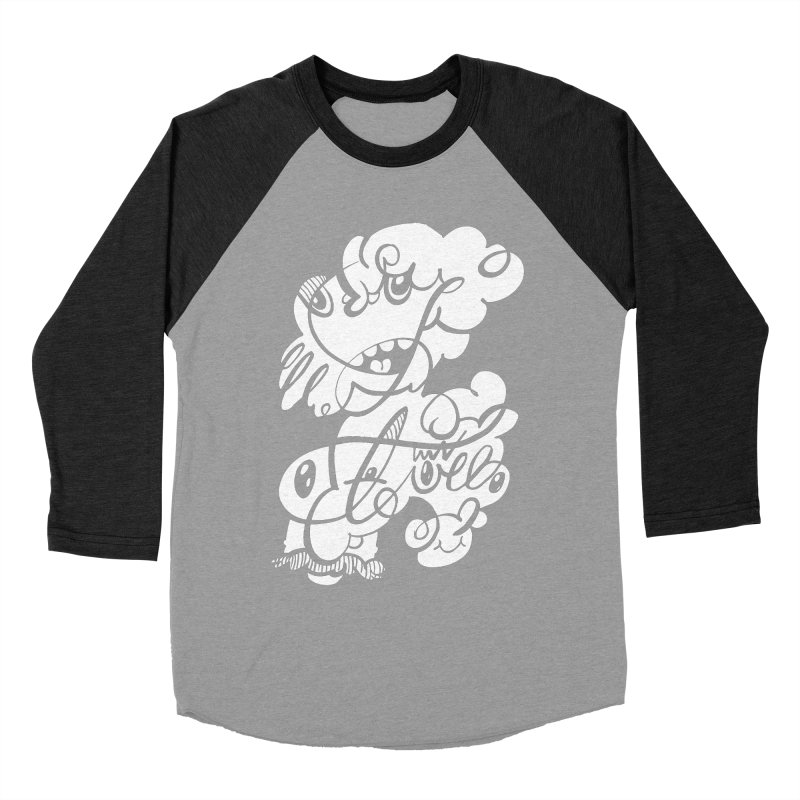 The Doodle Family Women's Baseball Triblend Longsleeve T-Shirt by Favati