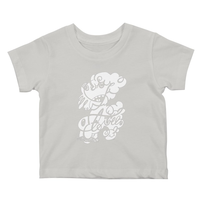 The Doodle Family Kids Baby T-Shirt by Favati