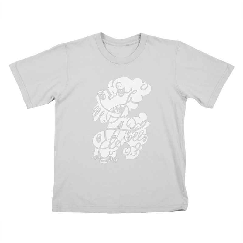 The Doodle Family Kids T-Shirt by Favati