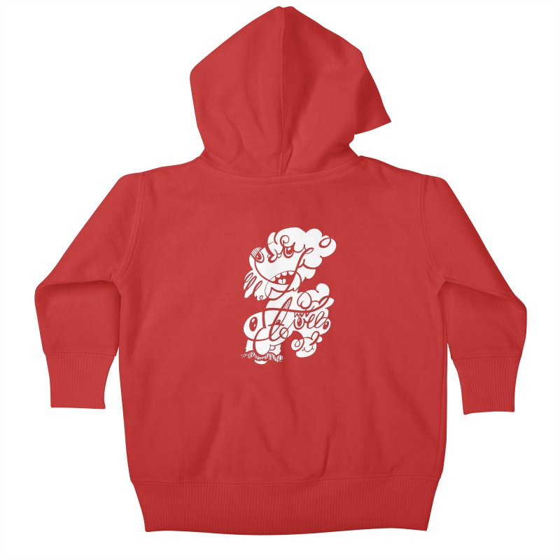 The Doodle Family Kids Baby Zip-Up Hoody by Favati