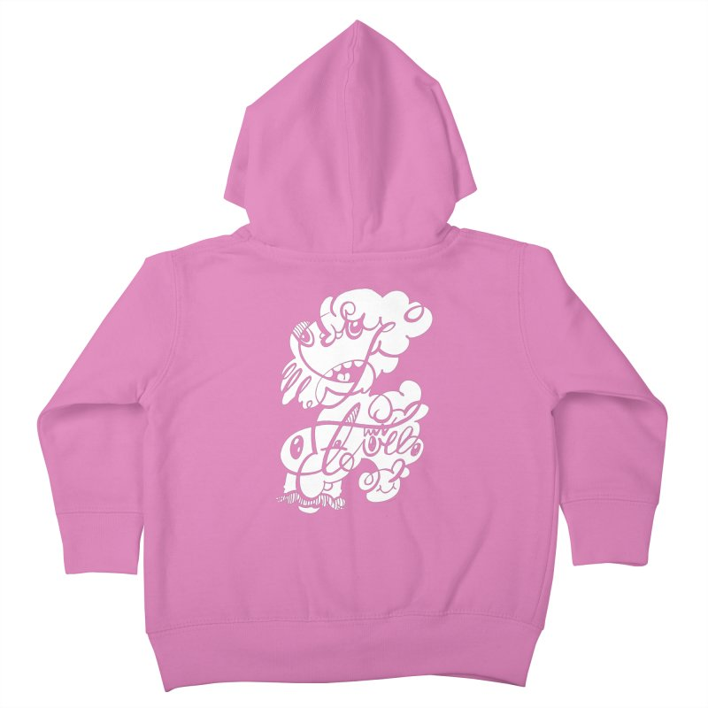 The Doodle Family Kids Toddler Zip-Up Hoody by Favati