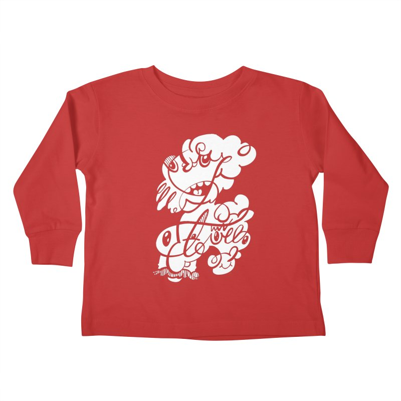 The Doodle Family Kids Toddler Longsleeve T-Shirt by Favati