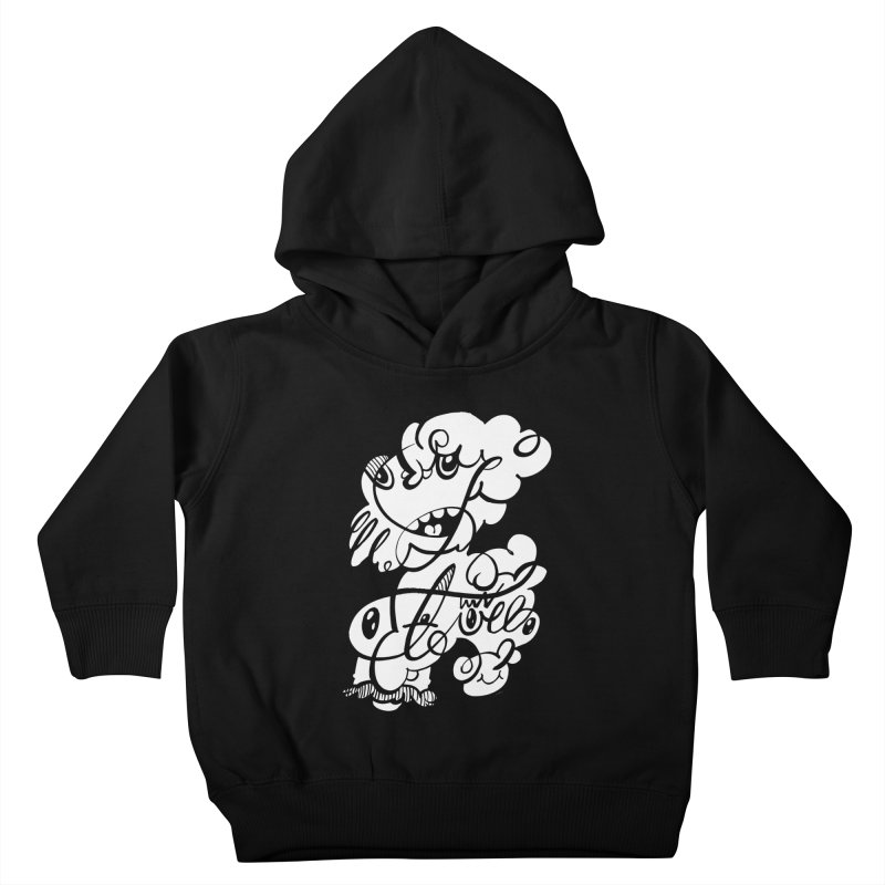 The Doodle Family Kids Toddler Pullover Hoody by Favati